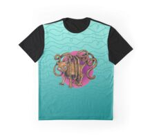 Curvaceous Cat Tail tangled in Yarn  Graphic T-Shirt