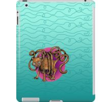 Curvaceous Cat Tail tangled in Yarn  iPad Case/Skin