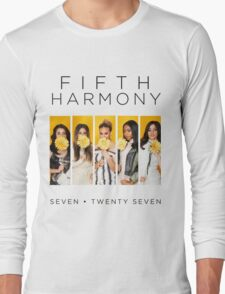 Fifth Harmony 7/27 (Flowers) Long Sleeve T-Shirt