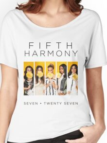 Fifth Harmony 7/27 (Flowers) Women's Relaxed Fit T-Shirt
