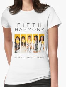 Fifth Harmony 7/27 (Flowers) Womens Fitted T-Shirt