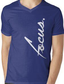 Focus - version 2 - white Mens V-Neck T-Shirt