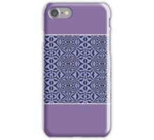 Unique Purple and Black (Abstract) iPhone Case/Skin