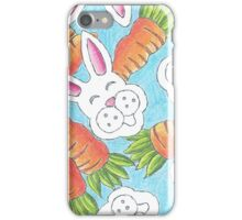 Bunnies and Carrots iPhone Case/Skin