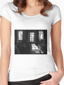 Light From the Outside Women's Fitted Scoop T-Shirt