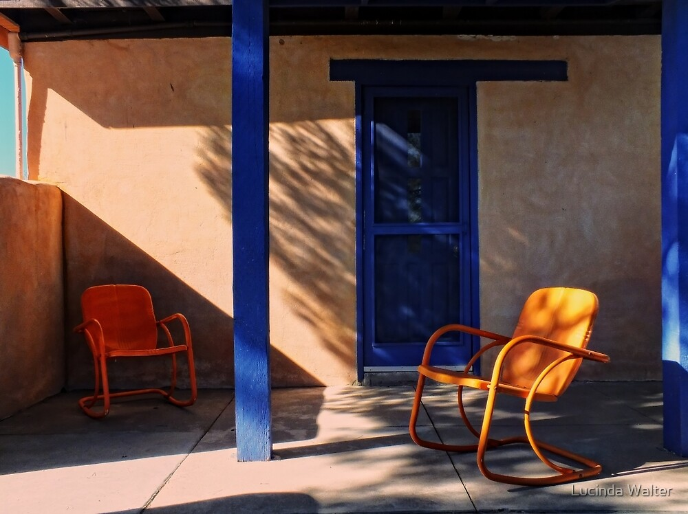 On the Porch by Lucinda Walter