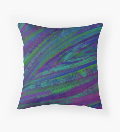 Peacock DPA151025a Throw Pillow