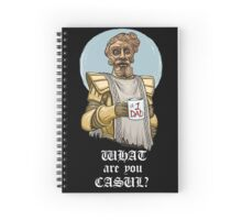 What are you casul? Spiral Notebook