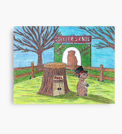 Ground Hog Day Canvas Print