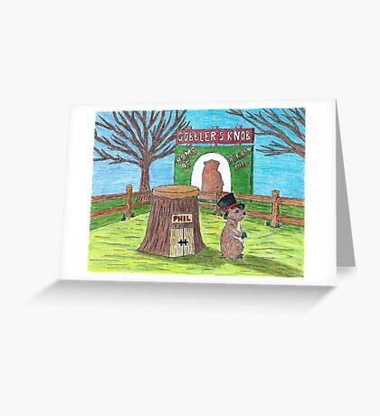 Ground Hog Day Greeting Card