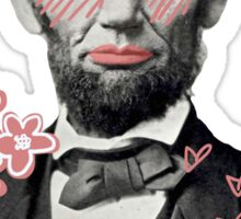 babe lincoln  Sticker