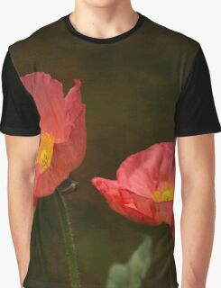 Spring Poppy Graphic T-Shirt