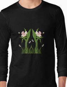 Buzzed Daffodils Long Sleeve T-Shirt