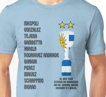Uruguay 1950 World Cup Final Winners Unisex T-Shirt