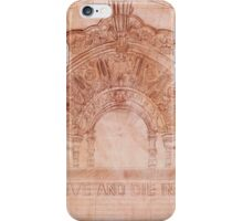 Sketch of The Million Dollar Theater iPhone Case/Skin