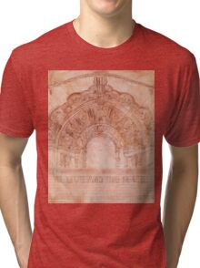 Sketch of The Million Dollar Theater Tri-blend T-Shirt