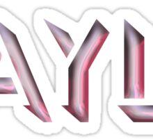 Kayla Sticker