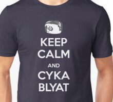 Keep Calm and Cyka Blyat Unisex T-Shirt