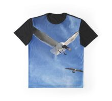 Snack Time | Bird Photograph Painting | Garden and Nature Graphic T-Shirt