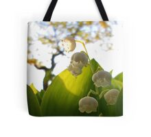 Convallaria Majalis - Lily Of The Valley Flower Filled With Sunrise   Melville, New York Tote Bag