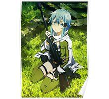 Sword Art Online II : Phantom Bullet - Sinon Poster Poster