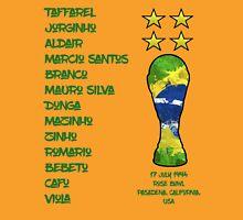 Brazil 1994 World Cup Final Winners Unisex T-Shirt
