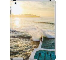 Icebergs Crash iPad Case/Skin