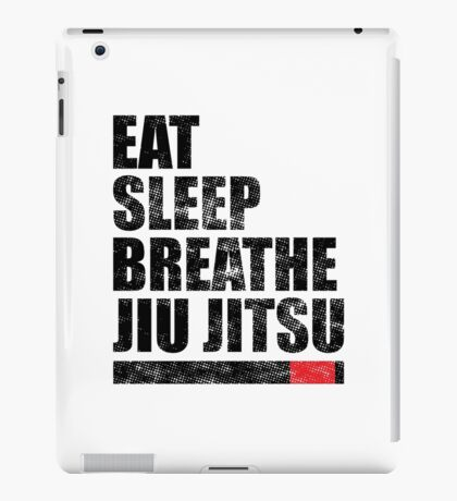 Eat Sleep Breathe Jiu Jitsu iPad Case/Skin