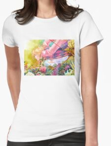 Howl's Moving Caslte Womens Fitted T-Shirt