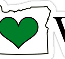 Oregon ♥ Sticker
