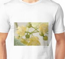 Basswood Tree Blossoms - Macro Unisex T-Shirt