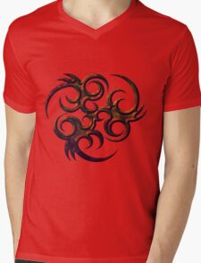 Biotribal Mens V-Neck T-Shirt