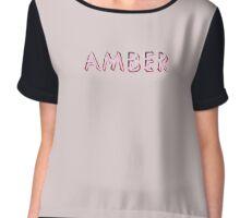 Amber Chiffon Top