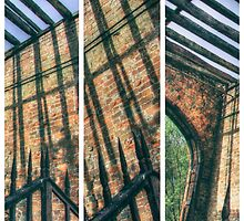 The Old Gatehouse Triptych by Nigel Bangert