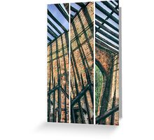 The Old Gatehouse Triptych Greeting Card