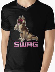 SWAG G-Shep Mens V-Neck T-Shirt