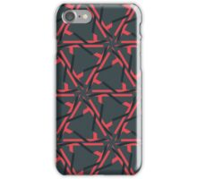 Abstract pentagon pattern iPhone Case/Skin