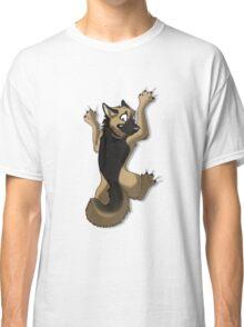 Clinging German Shepherd Dog Classic T-Shirt