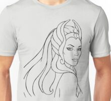 She-Ra Princess of Power (Black Line Art) Unisex T-Shirt