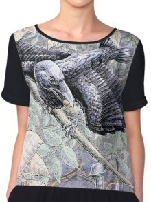 The Crow and the Pitcher Chiffon Top