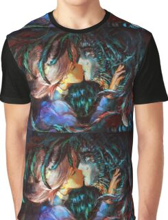 Sophia and Howl - Howl's Moving Castle Graphic T-Shirt