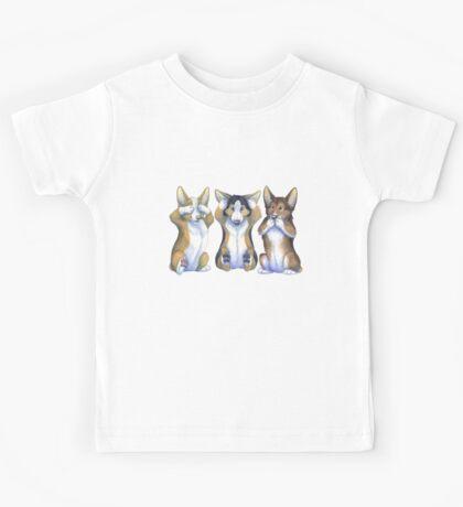 Three Wise Corgis Kids Tee