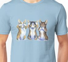 Three Wise Corgis Unisex T-Shirt