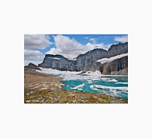 Upper Grinnell Lake and Glacier Unisex T-Shirt
