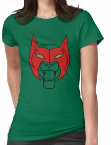She-Ra Princess of Power - Catra - as Cat with Mask Womens Fitted T-Shirt