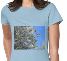 Over The Garden Wall - Tree In Full Bloom Womens Fitted T-Shirt