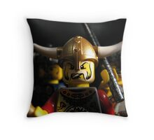 Vikings on the Rampage! Throw Pillow
