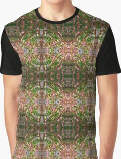 Flowering Grasses and Rocks Graphic T-Shirt