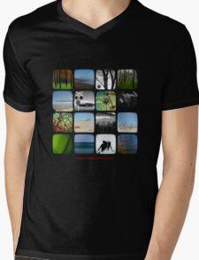 Kitsmumma Mens V-Neck T-Shirt