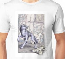 The Wolf at the Door Unisex T-Shirt
